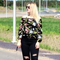 Bluzka z odkrytymi ramionami | Bonprix.pl